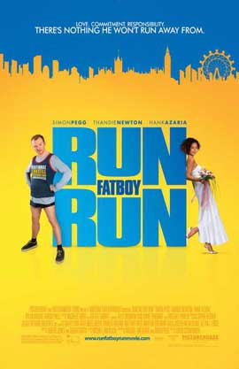 Run Fat Boy Run - 11 x 17 Movie Poster - UK Style A