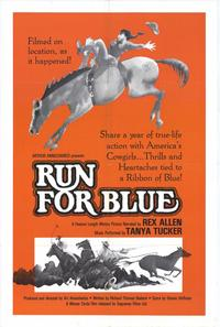 Run for Blue - 11 x 17 Movie Poster - Style A