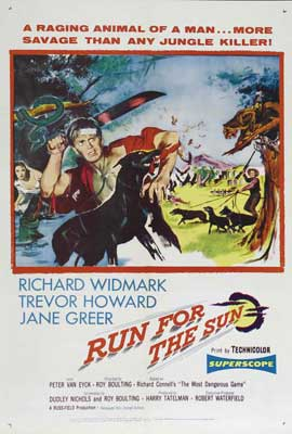 Run for the Sun - 27 x 40 Movie Poster - Style A