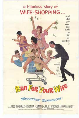 Run for Your Wife - 27 x 40 Movie Poster - Style A