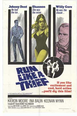 Run Like a Thief - 11 x 17 Movie Poster - Style A