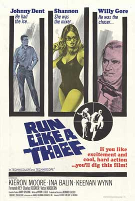 Run Like a Thief - 27 x 40 Movie Poster
