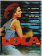 Run Lola Run - 11 x 17 Movie Poster - French Style A