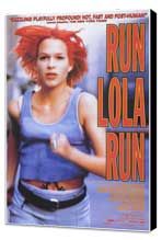 Run Lola Run - 27 x 40 Movie Poster - Style A - Museum Wrapped Canvas