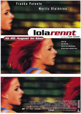 Run Lola Run - 11 x 17 Movie Poster - German Style A