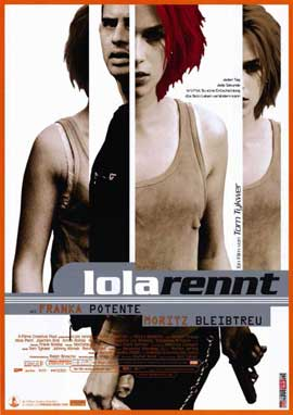 Run Lola Run - 11 x 17 Movie Poster - German Style B