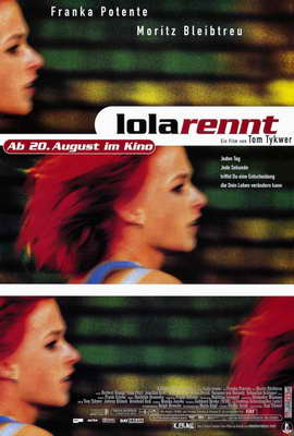 Run Lola Run - 27 x 40 Movie Poster - German Style A