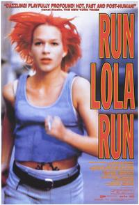 Run Lola Run - 43 x 62 Movie Poster - Bus Shelter Style A