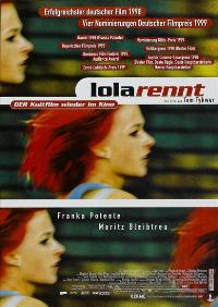 Run Lola Run - 11 x 17 Movie Poster - German Style C