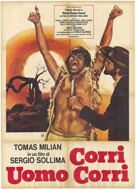 Run, Man, Run - 11 x 17 Movie Poster - Italian Style A
