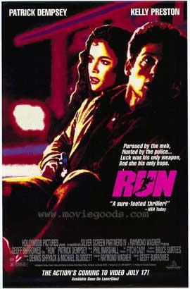 Run - 11 x 17 Movie Poster - Style B