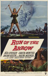 Run of the Arrow - 27 x 40 Movie Poster - Style A