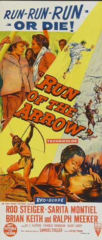 Run of the Arrow - 13 x 30 Movie Poster - Australian Style A