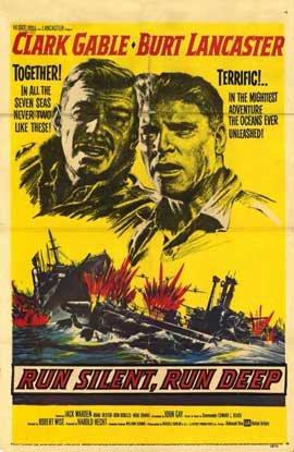 Run Silent, Run Deep - 11 x 17 Movie Poster - Style A