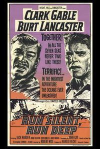 Run Silent, Run Deep - 27 x 40 Movie Poster - Style B