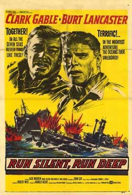 Run Silent, Run Deep - 27 x 40 Movie Poster - Style A