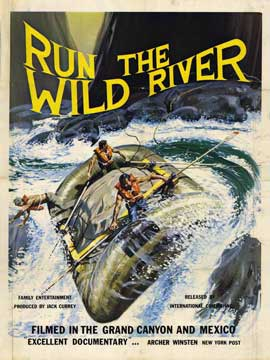Run the Wild River - 11 x 17 Movie Poster - Style A