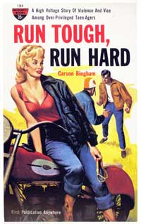 Run Tough, Run Hard - 11 x 17 Retro Book Cover Poster