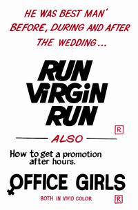 Run Virgin Run - 11 x 17 Movie Poster - Style A
