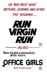Run Virgin Run - 27 x 40 Movie Poster - Style A