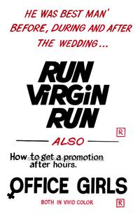 Run Virgin Run - 43 x 62 Movie Poster - Bus Shelter Style A
