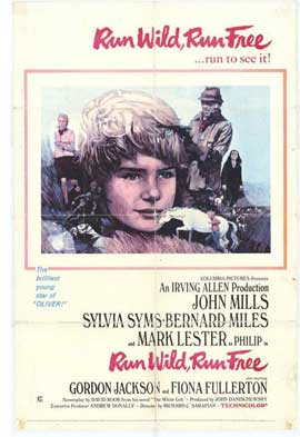 Run Wild Run Free - 27 x 40 Movie Poster - Style A
