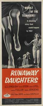 Runaway Daughters - 14 x 36 Movie Poster - Insert Style A