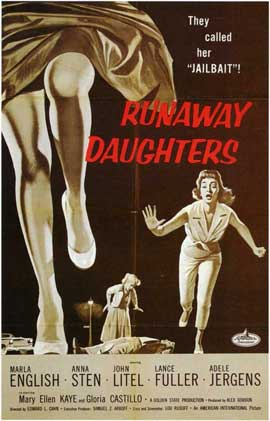 Runaway Daughters - 11 x 17 Movie Poster - Style A
