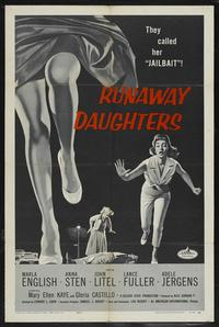 Runaway Daughters - 27 x 40 Movie Poster - Style B