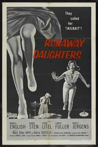 Runaway Daughters - 43 x 62 Movie Poster - Bus Shelter Style B