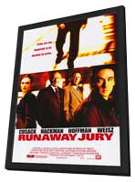 Runaway Jury - 27 x 40 Movie Poster - Style A - in Deluxe Wood Frame
