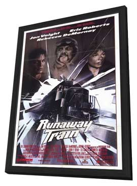 Runaway Train - 11 x 17 Movie Poster - Style A - in Deluxe Wood Frame