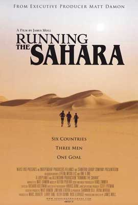 Running The Sahara - 27 x 40 Movie Poster - Style A
