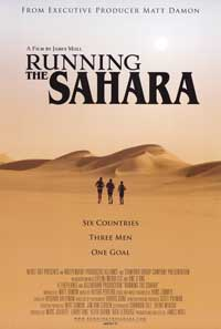 Running The Sahara - 43 x 62 Movie Poster - Bus Shelter Style A