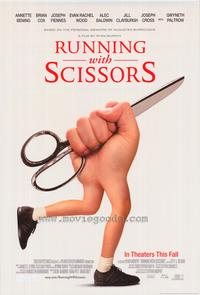 Running with Scissors - 43 x 62 Movie Poster - Bus Shelter Style A
