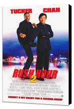 Rush Hour 2 - 27 x 40 Movie Poster - Style A - Museum Wrapped Canvas