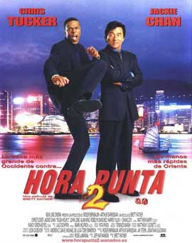 Rush Hour 2 - 11 x 17 Movie Poster - Spanish Style A
