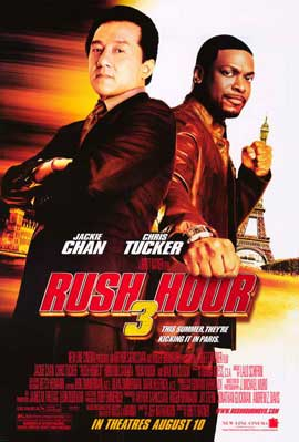Rush Hour 3 - 11 x 17 Movie Poster - Style A