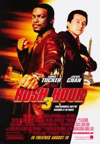 Rush Hour 3 - 43 x 62 Movie Poster - Bus Shelter Style C