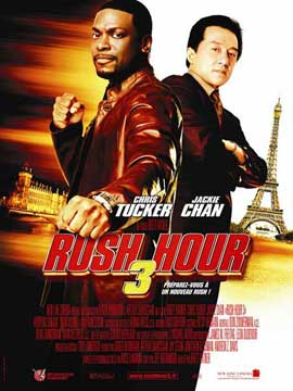 Rush Hour 3 - 11 x 17 Movie Poster - French Style A