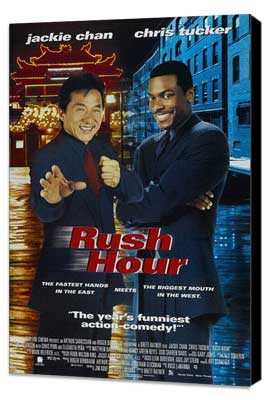 Rush Hour - 27 x 40 Movie Poster - Style B - Museum Wrapped Canvas