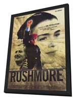 Rushmore - 11 x 17 Movie Poster - French Style A - in Deluxe Wood Frame