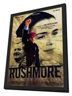 Rushmore - 27 x 40 Movie Poster - French Style A - in Deluxe Wood Frame