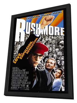 Rushmore - 11 x 17 Movie Poster - Style B - in Deluxe Wood Frame