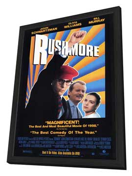Rushmore - 27 x 40 Movie Poster - Style A - in Deluxe Wood Frame