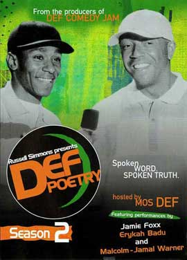 Russell Simmons Presents Def Poetry (TV) - 11 x 17 TV Poster - Style A
