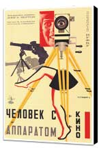 Russian Camera w/ legs - 27 x 40 Movie Poster - Style A - Museum Wrapped Canvas