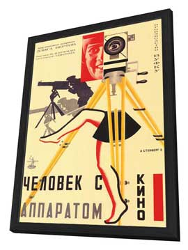 Russian Camera w/ legs - 11 x 17 Movie Poster - Style A - in Deluxe Wood Frame