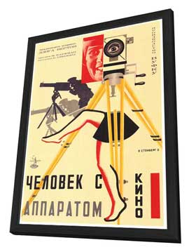 Russian Camera w/ legs - 27 x 40 Movie Poster - Style A - in Deluxe Wood Frame