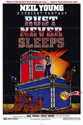 Rust Never Sleeps - 11 x 17 Movie Poster - Style A